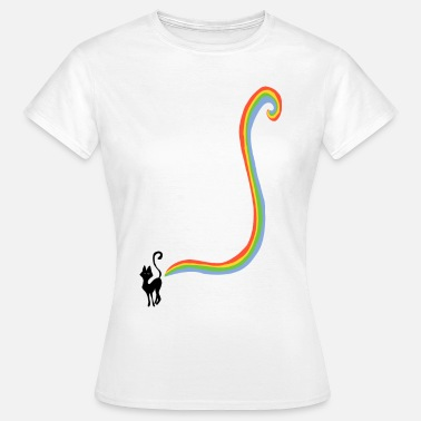 Rainbow Cats Pups - Vrouwen T-shirt