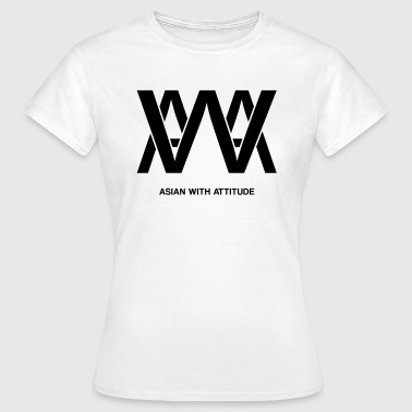 Arab With Attitude awa asian - T-shirt Femme