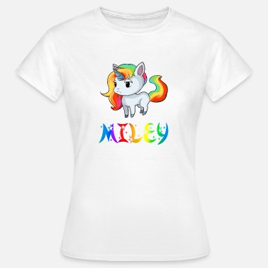 Miley Miley unicorn - Women's T-Shirt