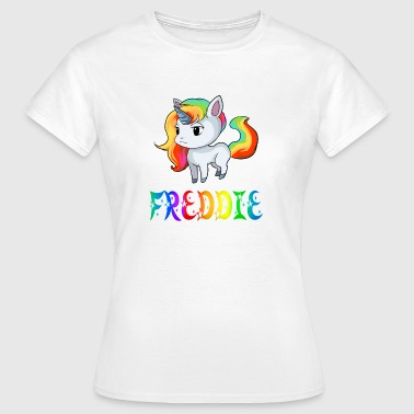 Freddy Unicorn Freddie - Women's T-Shirt