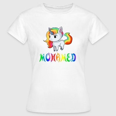 Mohamed Unicorn Mohamed - Dame-T-shirt