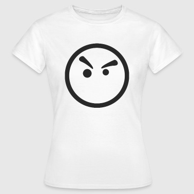Smiley vred - Dame-T-shirt