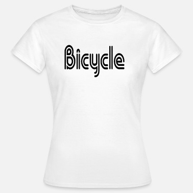 Street Talk Bicycle - Women's T-Shirt