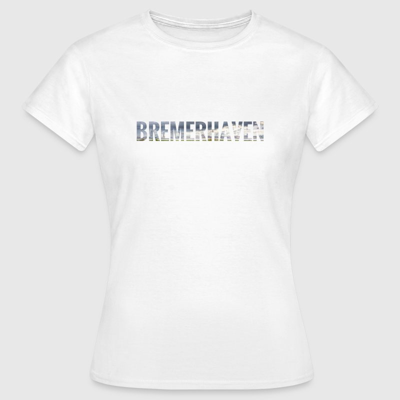 City Skyline Bremerhaven - Frauen T-Shirt