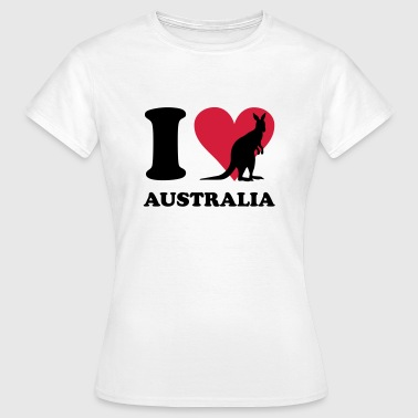 I love Australia - Women's T-Shirt
