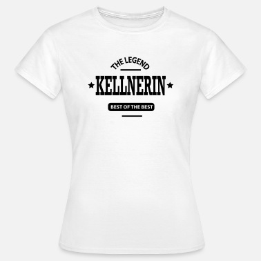 Kellnerin kellnerin - Frauen T-Shirt