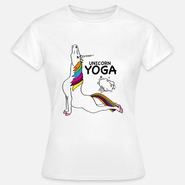 Einhorn Yoga EINHORN YOGA - COBRA POSITION - Frauen T-Shirt
