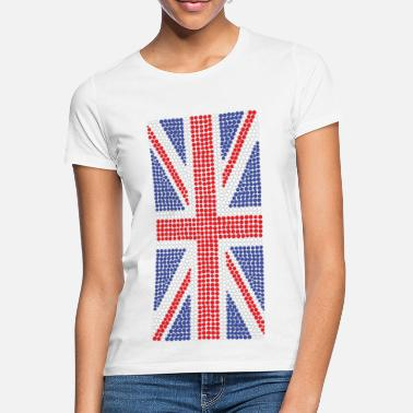 Gb Supporters Super Dots Union Jack T-Shirt - Women's T-Shirt