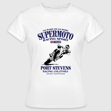 Supermoto Racing - Vrouwen T-shirt