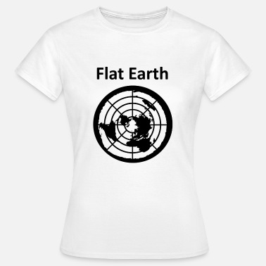 Earth Hour Flat Earth 2 - T-shirt Femme