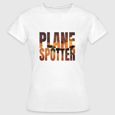 Avion Spotter photo Design Jet de combat Jet - T-shirt Femme