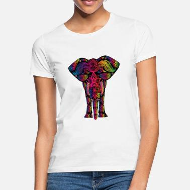 Ganesha YOGA ELEFANT BUDDHA MEDITATION T-SHIRT - Frauen T-Shirt