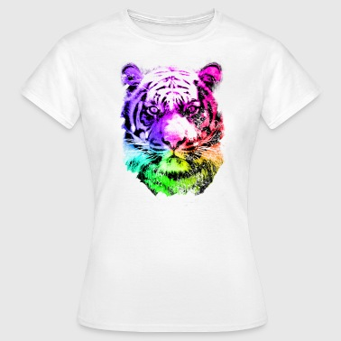 tiger - tigre - big cat - pshycho - Women's T-Shirt
