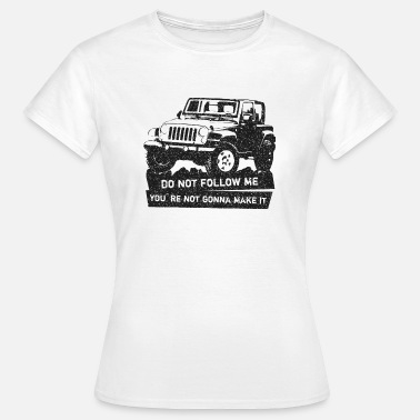 Jeep off-road SUV shirt - Vrouwen T-shirt