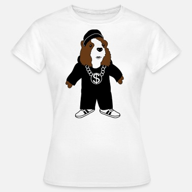 Guinea Pigs Cartoon Hip Hop Guinea Pig - Women's T-Shirt