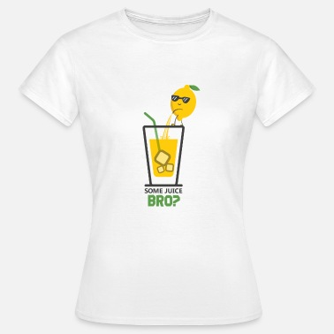 Lemon Jokes Lemon juice lemon peels juice in glass - Women's T-Shirt