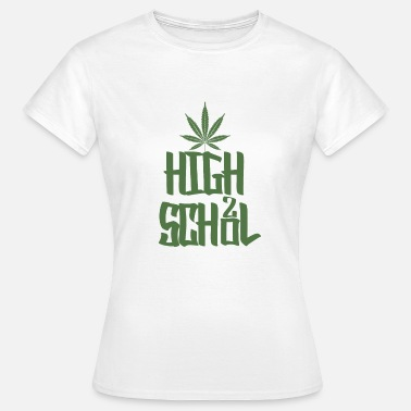 Highschool Highschool Grün - Frauen T-Shirt