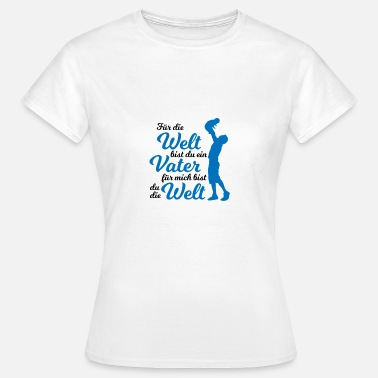 Parents Family parents father mother son daughter child couple - Women's T-Shirt