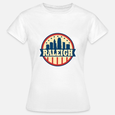 Raleigh Raleigh North Carolina Code régional NC Vintage Gift - T-shirt Femme