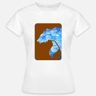 Chicago Bears bear - Women's T-Shirt