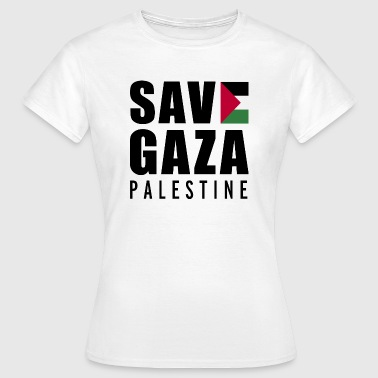 Save Gaza - Palestine  - Frauen T-Shirt