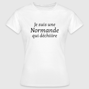 Normandiet Normandie / Normand / Normande / France - Dame-T-shirt