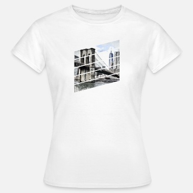 Brooklyn Bridge brooklyn bridge - Dame-T-shirt