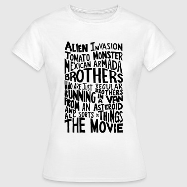 Movie Quote Rick_And_Morty - Vrouwen T-shirt