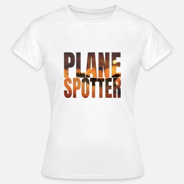 Jet Plane Spotter Photo Design Jet Jet Fighter - Women's T-Shirt