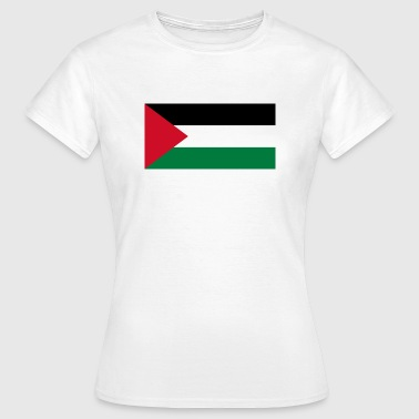 National flag of Palestine - Women's T-Shirt