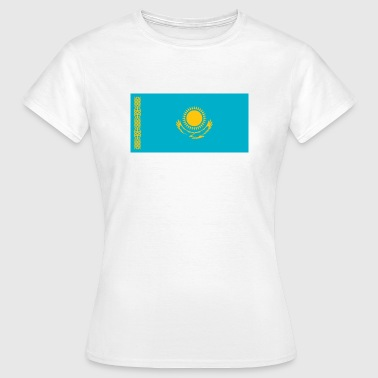 National Flag of Kazakhstan - Women's T-Shirt