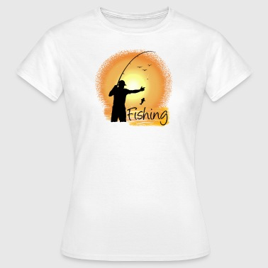 fishing - Women's T-Shirt