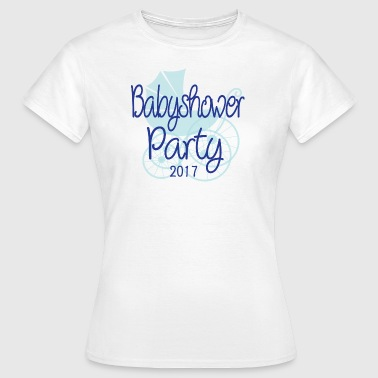 Baby Shower Party 2017 - Women's T-Shirt
