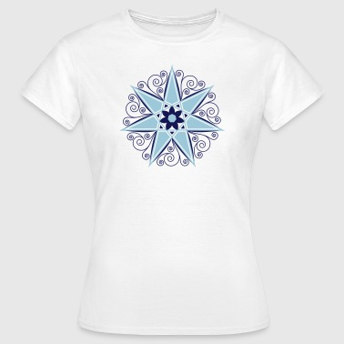 Elven Star, Heptagram, Fairy Star, Pagan, Wicca - Women's T-Shirt