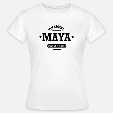 Maya Name maya - Frauen T-Shirt