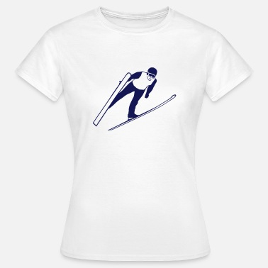 Skijump ski jumping - ski flying - skijumper - Women's T-Shirt