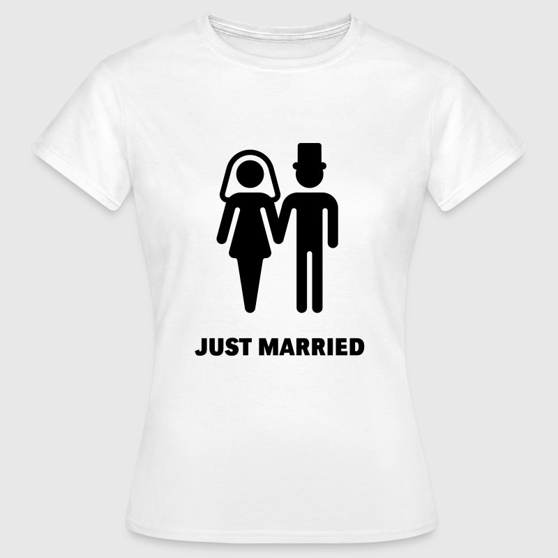 Just Married (Bridal Couple) - Camiseta mujer