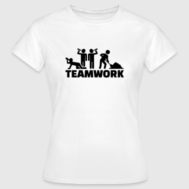 Teamwork - Frauen T-Shirt