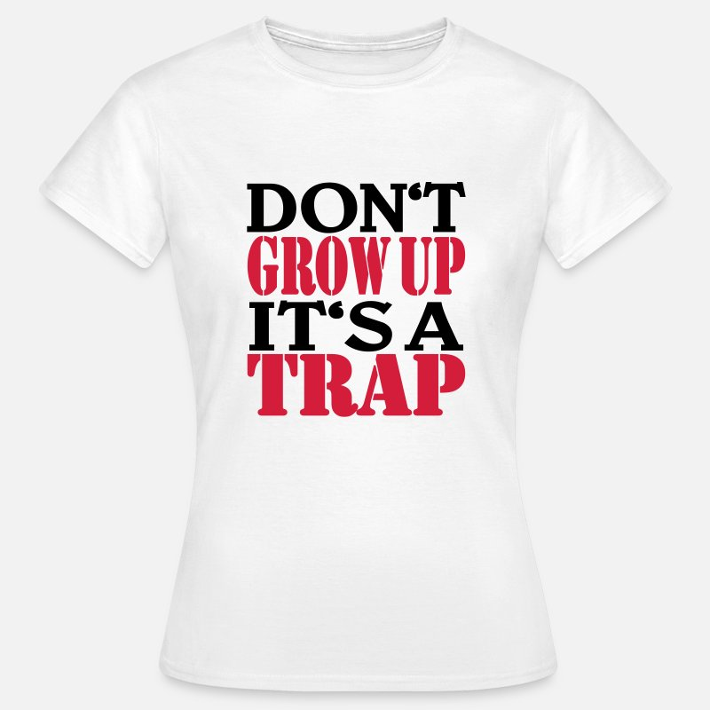 a6bf9e66f38bc Cumpleaños Camisetas - Don t grow up