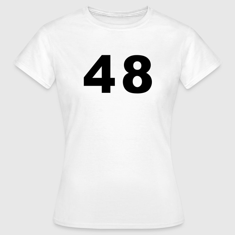 Number - 48 – Forty Eight - Women's T-Shirt