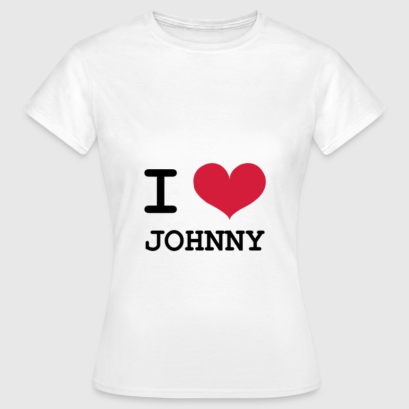 I Love Johnny ! - T-shirt Femme