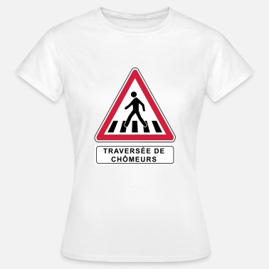 Emmanuel Crossing of unemployed - Women's T-Shirt