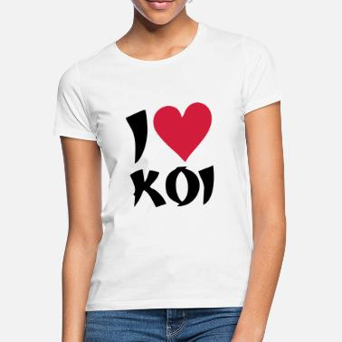 I love Koi 2 - Frauen T-Shirt