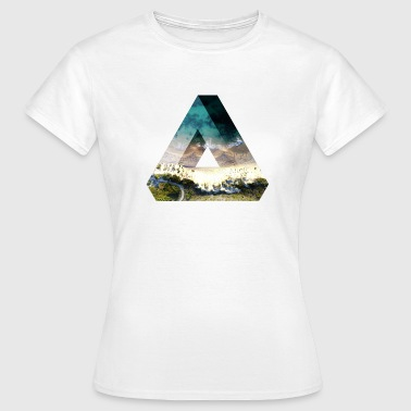 Penrose Triangle Design - Women's T-Shirt