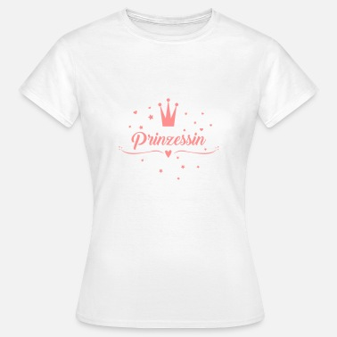 Heart Crown Prinzessin, Krone, Gold, JGA, Jungesellinnen - Women's T-Shirt