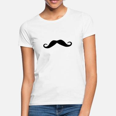 Gay Pride Moustache Moustache - Women's T-Shirt