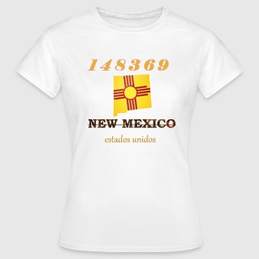 New Mexico - Dame-T-shirt