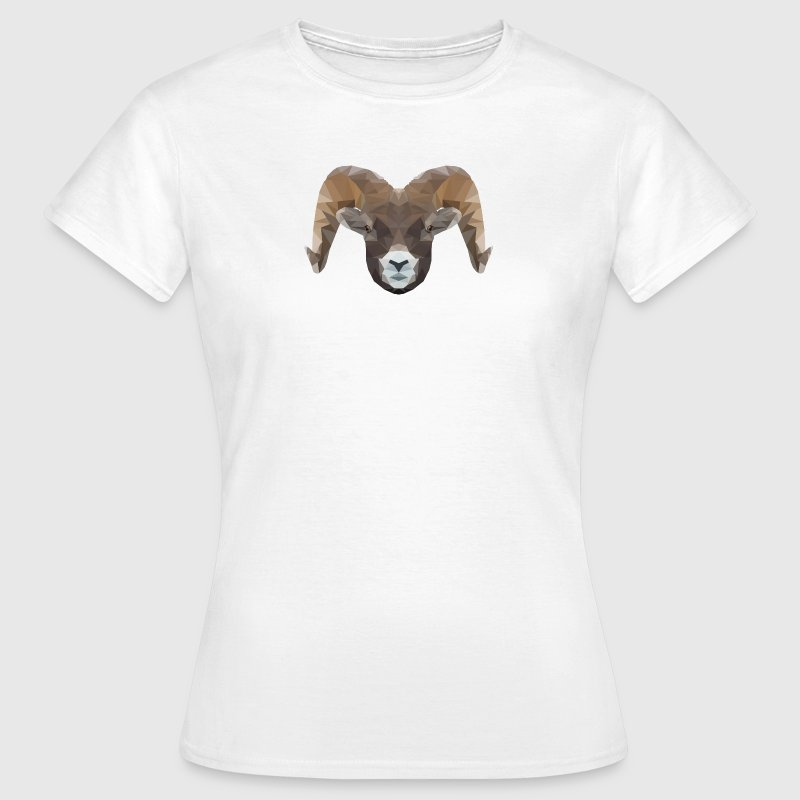 Low Poly Steinbock - Frauen T-Shirt