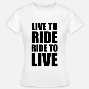 Motorbike Jokes Biker Motorbike Motorrad Moto Motard Speed Sport - Women's T-Shirt