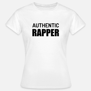 Citation Rap Rap / Rappeur / Musique / Hip-hop / Graffiti - T-shirt Femme